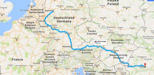 Tur cu Autorulota în Europa Centrală